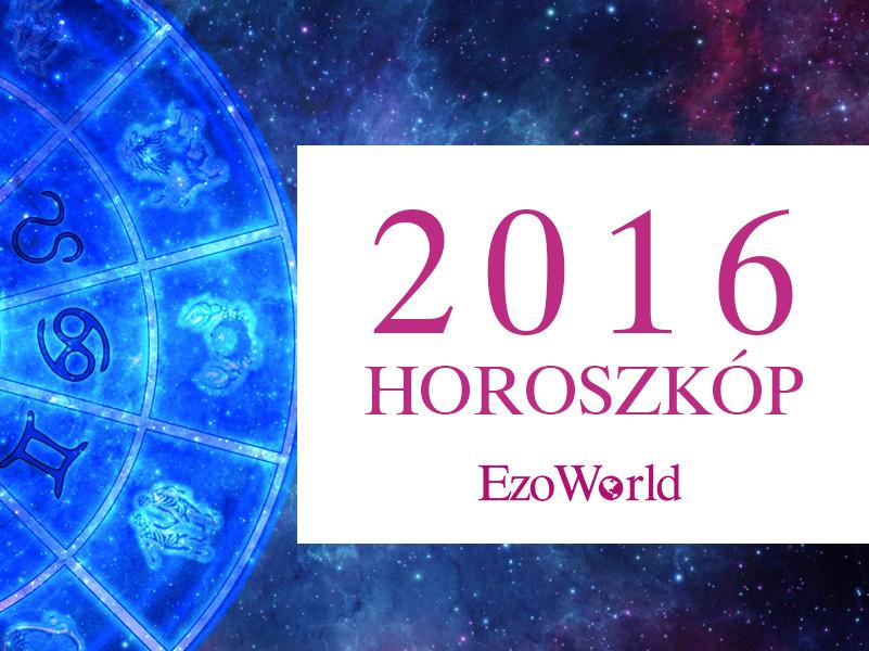 Éves horoszkóp 2016